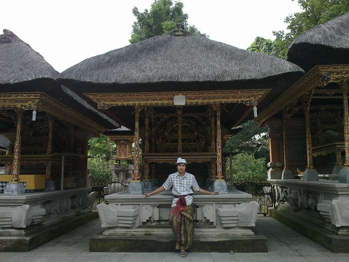 Tampak Siring Temple with nice arts