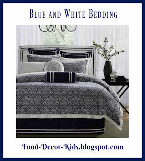 Blue and White Bedding Blue and White comforters