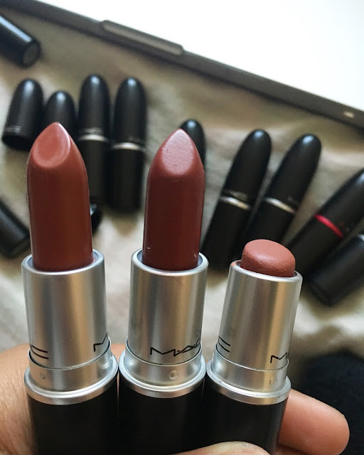 beauty, beauty blogger, lipstick, lipstick collection, mac, mac lipstick, mac lipstick collection, nc42, nc44, review,