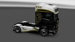 Scania RJL Wolf Express Skin