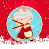 Christmas Mrs Claus Clock Screensaver