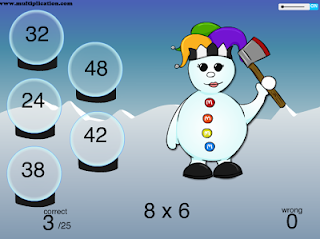 http://www.multiplication.com/games/play/snowman-fun