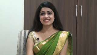 Manasa Radhakrishnan in Saree Beautiful looks