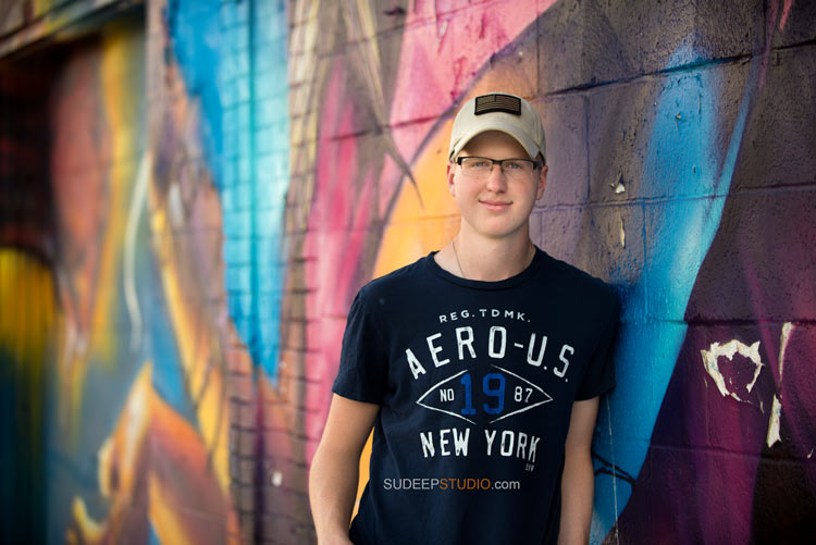 Best Graffiti Wall High School Senior Picture ideas - Sudeep Studio.com Ann Arbor Photographer