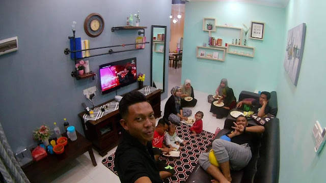 Adni Suite Homestay Seri Manjung || Encik Ahmad - BBQ 2