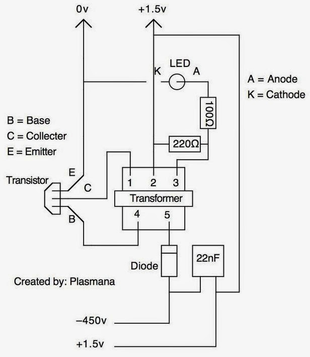 highvoltage generator circuit diagram tradeoficcom