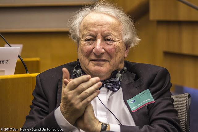 Portrait de Paul Goldschmidt - Commission européenne - Stand Up For Europe - Parlement européen - Portrait by Ben Heine