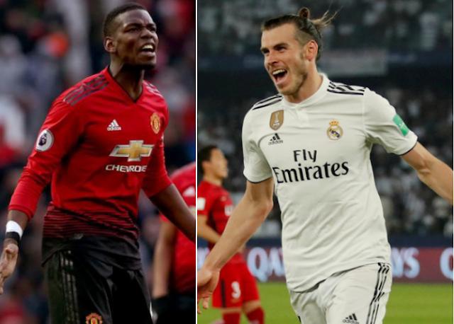 Tetesi za Soka Ulaya Leo Ijumaa: Bale, Pogba, Neymar, Zaha, Maguire, Malcom