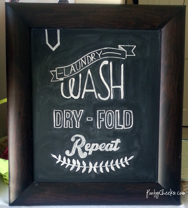 8+chalk art3 thumb 16 Spring Home Decor Projects 42