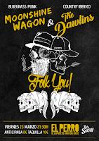 Concierto de Moonshine Wagon & The Dawlins en El perro de la parte de atrás del coche
