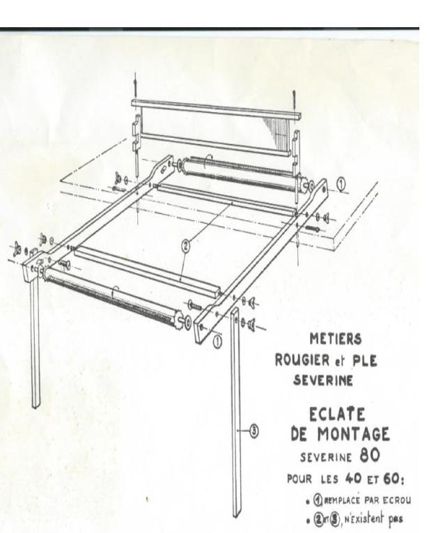 faire et fil m tiers tisser de table vendre. Black Bedroom Furniture Sets. Home Design Ideas