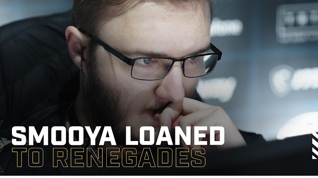 ESL Pro Leauge Season 9にて「Renegades」にsmooyaがスタンドイン
