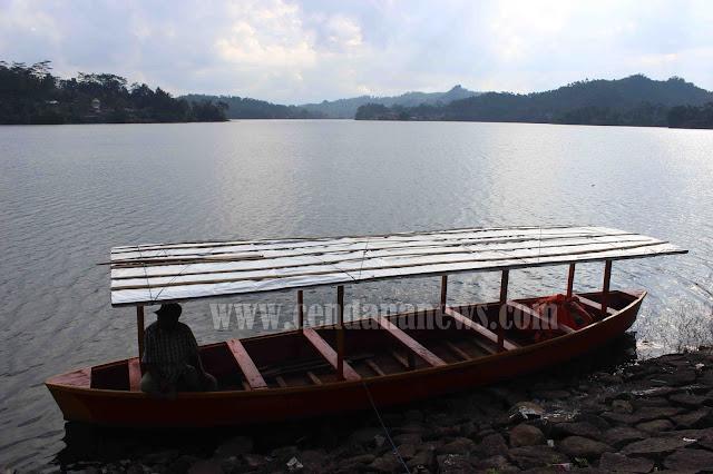Kurangnya Perhatian Pemda Brebes Obyek Wisata Waduk Penjalin Kurang Diminati Pengunjung Cendana News