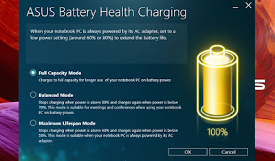 Asus battery Health Charging for VivoBook S15 S510UQ