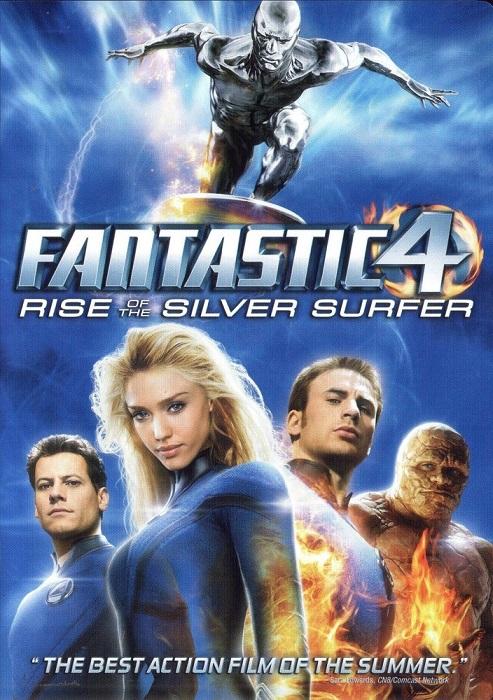 فیلم دوبله : چهار شگفتانگیز: قیام موجسوار نقرهای Fantastic 4 Rise of the Silver Surfer 2007