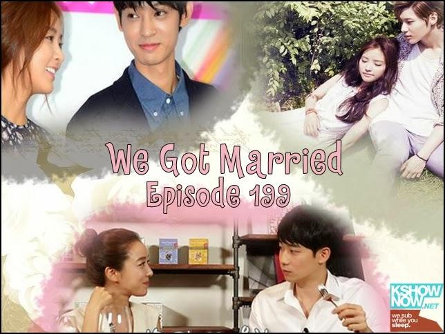 Korean Entertainment: We got married EP 199 [Eng Sub ...