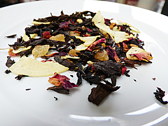 floral fruit tea