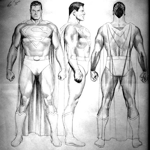 Design of Superman character
