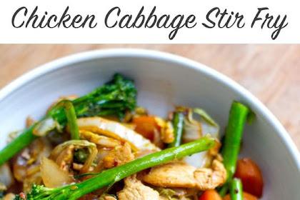 Quick & Easy Chicken Cabbage Stir Fry