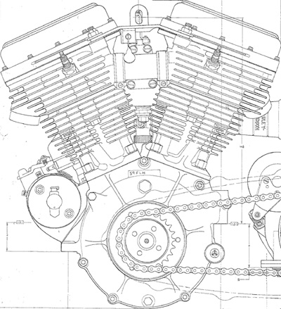 Harley Davidson Shovelhead Engine Blueprints