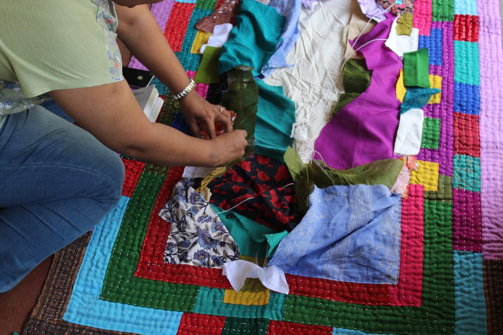 Siddi Quilts of Karnataka – Shruti Dandekar : how to make quilts at home - Adamdwight.com