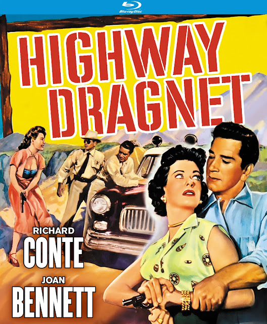 Highway Dragnet 1954 movieloversreviews.filminspector.com Poster