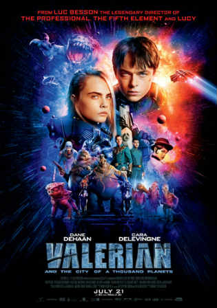 Valerian and the City of a Thousand Planets 2017 HDRip 400MB English 480p