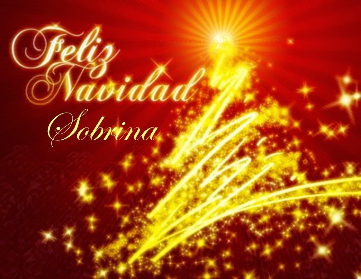 Frases De Navidad: Feliz Navidad Sobrina