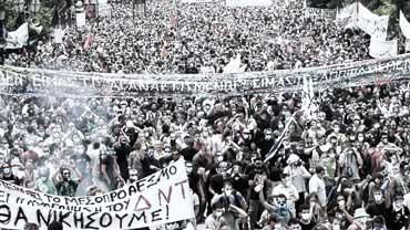 Grecia colapso