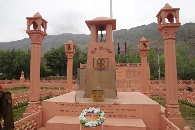 Kargil War Memorial in Drass, Kashmir