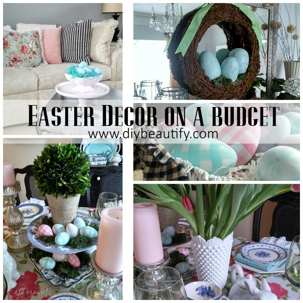 Decorate for Easter on a Budget | DIY beautify