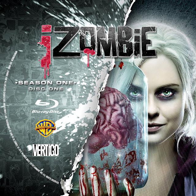 Label Bluray IZombie Primeira Temporada D1 a D2