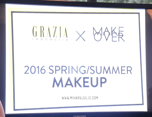 grazia indonesia x make over event