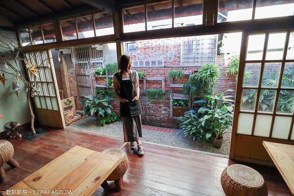 《台中.西區》解憂老宅|早午餐|下午茶|百年日式平房|環境舒適|老車交流|台中文學館旁