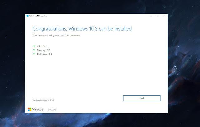كيفية التبديل بسهولة من ويندوز 10 برو إلى ويندوز 10 S