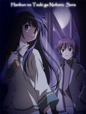 Hanbun no Tsuki ga Noboru Sora Sub Español