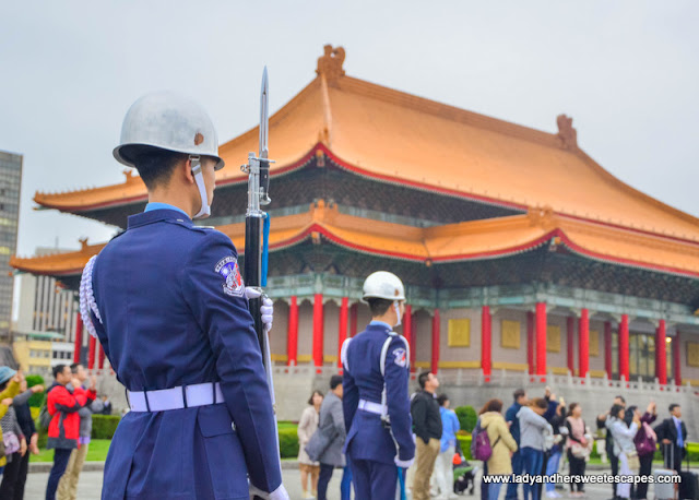 Changing of the Guards ceremony in Taipei