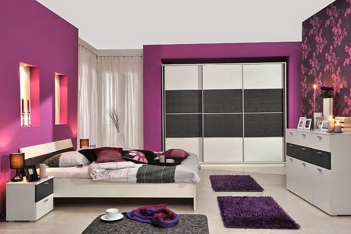 purple paint colors for all bedroom