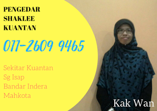Pengedar Shaklee Kuantan Pahang Malaysia