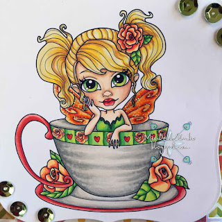 Faery Ink Gabbie the Rose Tea Fairy