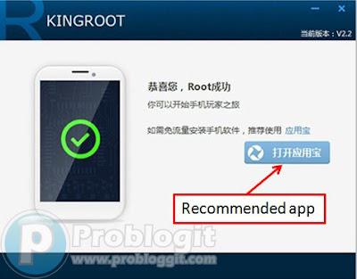 Cara root android pada PC menggunakan King Root