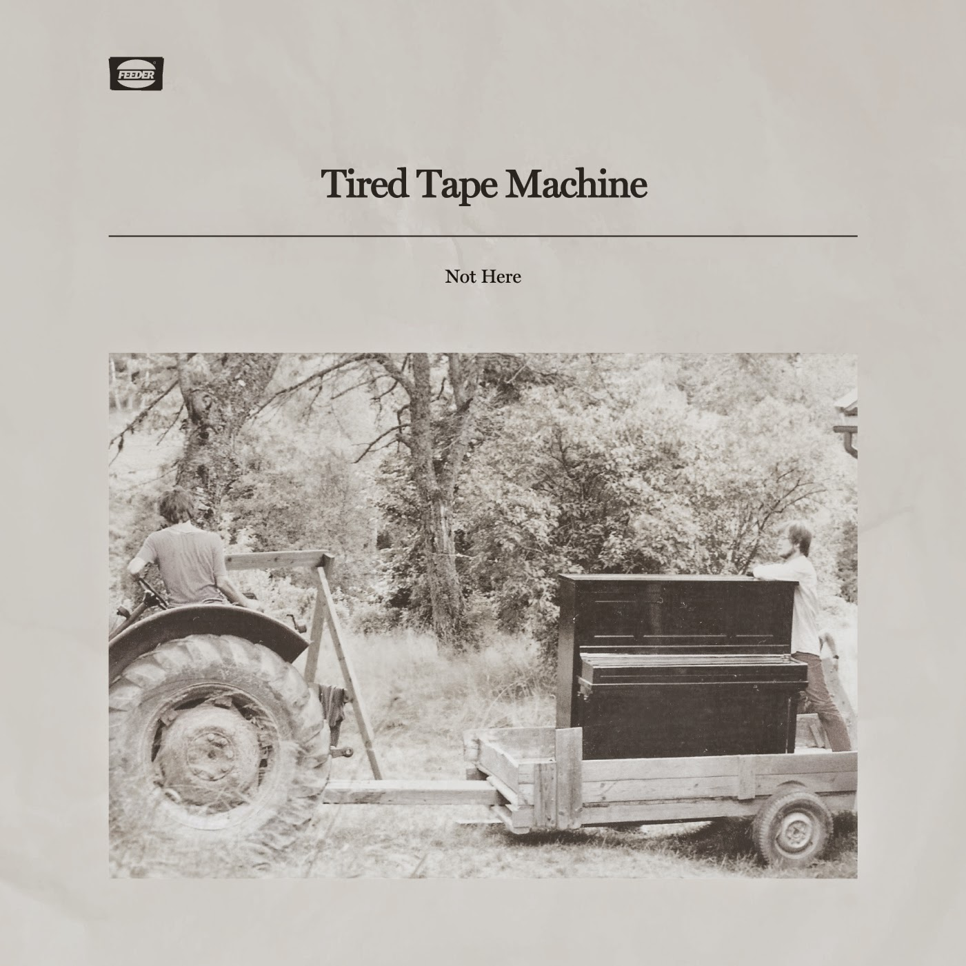 "Tired Tape Machine - ""Not Here"" Drops November 19th - Part Natural Beauty, Part Spectral"