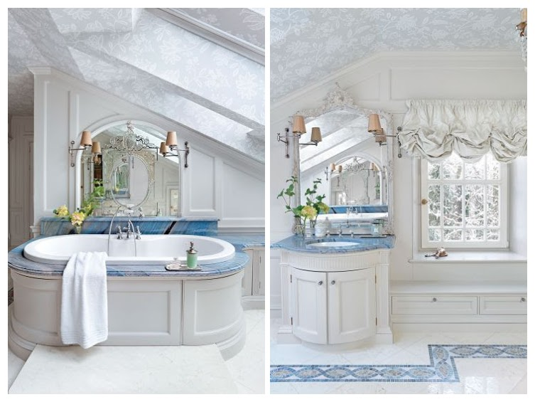 Bathroom : The House in the English Style