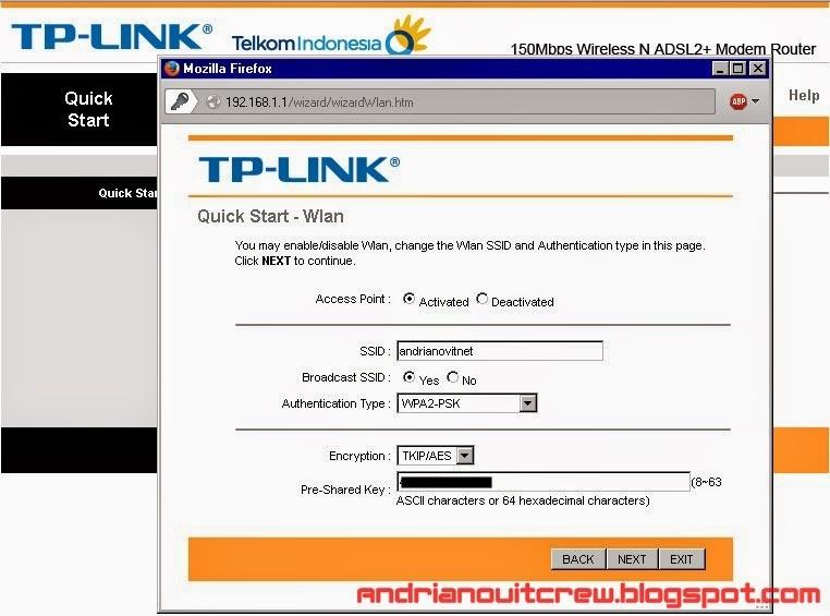 cara setting ulang modem speedy tplink adsl + wifi 6