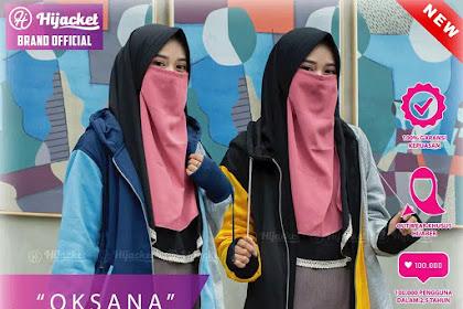 Hijacket Oksana Original Yellow Blue Red Pink Hijacket HJ-OK