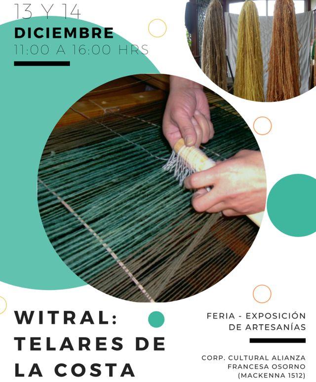 """""""Witral: telares de la Costa"""", en la Alianza Francesa"""