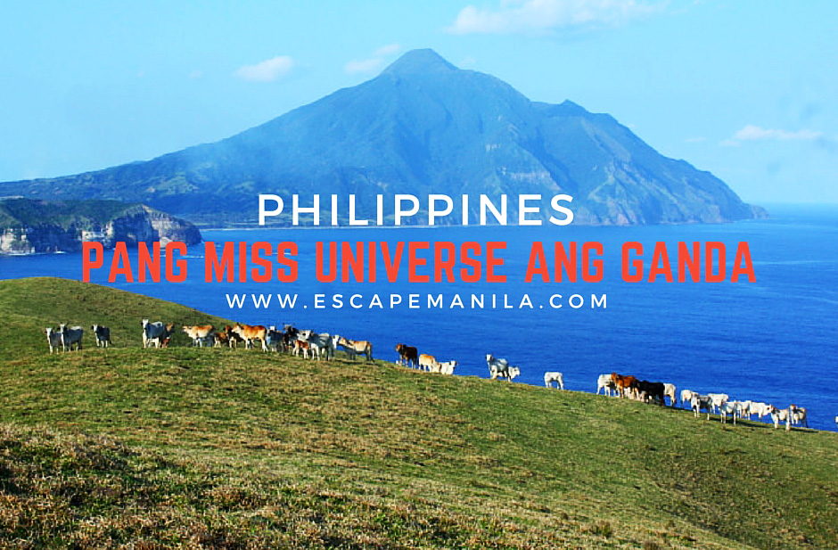 Places In The Philippines Na Pang Miss Universe Ang Beauty - Escape
