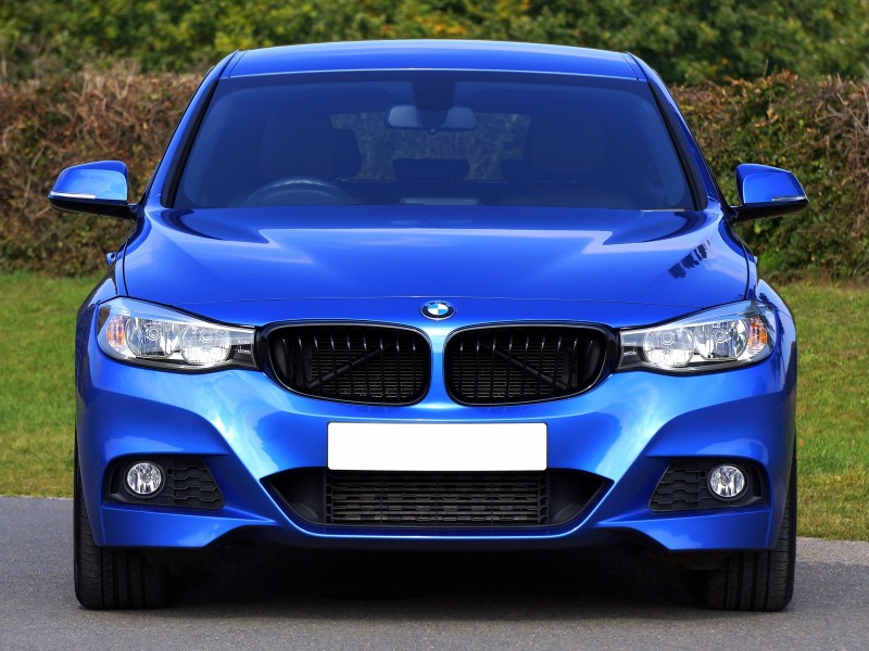 Download Blue Bmw Sedan Near Green Lawn Grass HD wallpaper. Click Visit page Button for More Images.