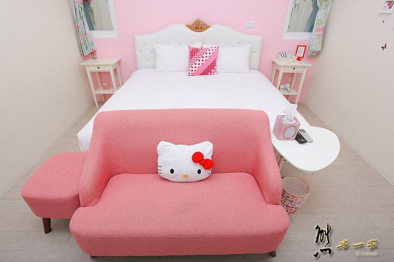 夏日微風|親子房型~隱藏版Hello kitty房