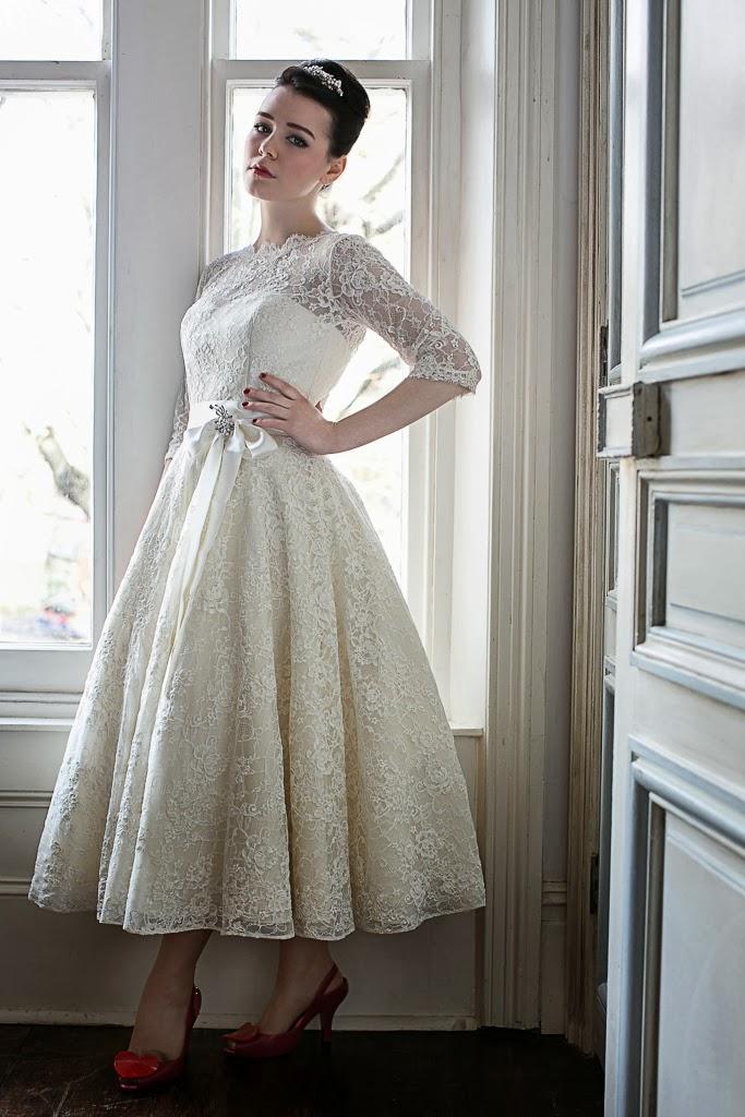 1950s WEDDING DRESSES - A GUIDE. |Heavenly Vintage Brides ...